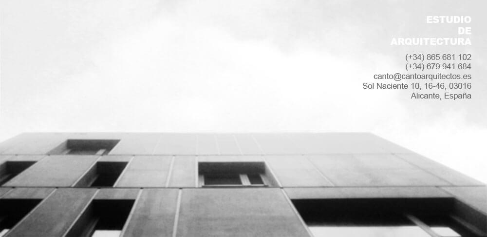 Arquitectos alicante estudio de arquitectura cant arquitectos - Estudio arquitectura alicante ...