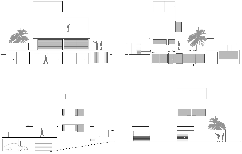 Vivienda unifamiliar de nueva construcción en Alicante. Proyecto y dirección de Obra.