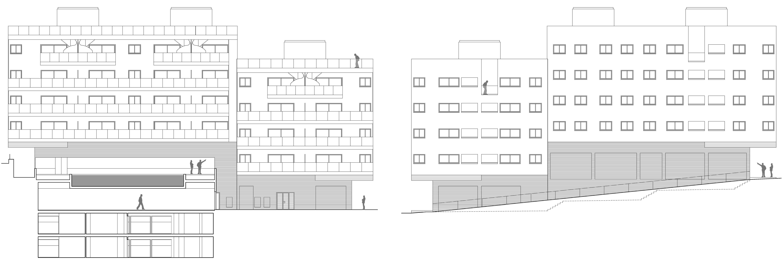 Edificio de viviendas en El Campello. Arquitectura Alicante. Dirección de Obra.
