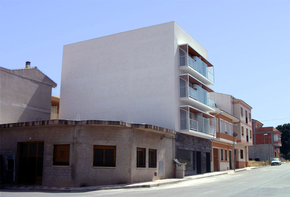 Edificio de viviendas. Arquitectura Alicante. Proyectos de Arquitectura. Arquitectos Alicante. Obras de Reforma e Interiorismo.