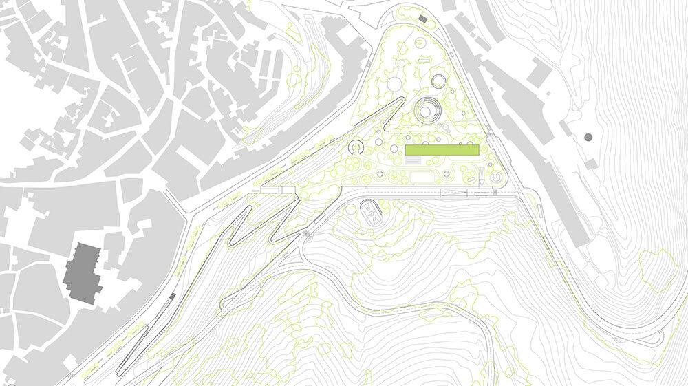 Urbanización. urbanismo y Diseño urbano. Arquitectura Alicante. Locales comerciales.