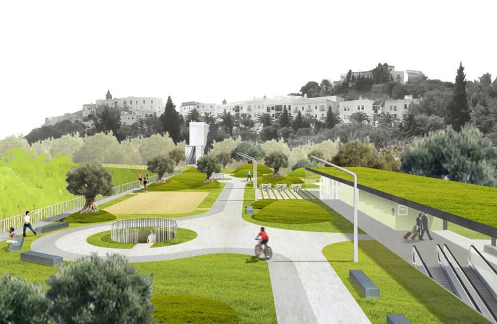 Urbanización. urbanismo y Diseño urbano. Arquitectura Alicante.