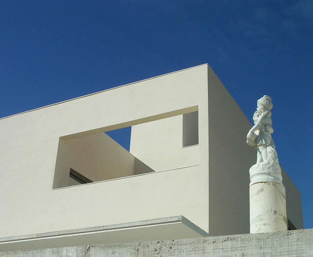 Vivienda unifamiliar de nueva construcción en Alicante. Proyecto y Dirección de Obra. Arquitectura Técnica.
