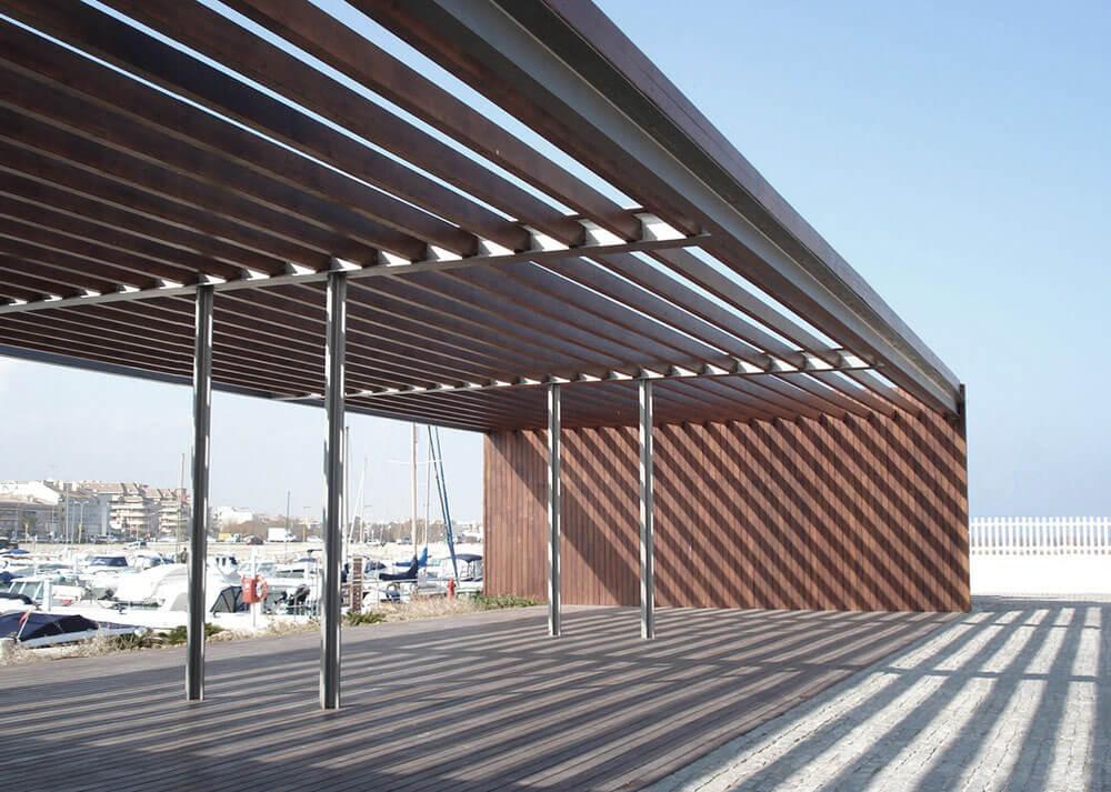 Edificio de servicio del Puerto de Denia. Arquitectura Alicante. Proyectos de Arquitectura. Arquitectos Alicante. Viviendas exclusivas